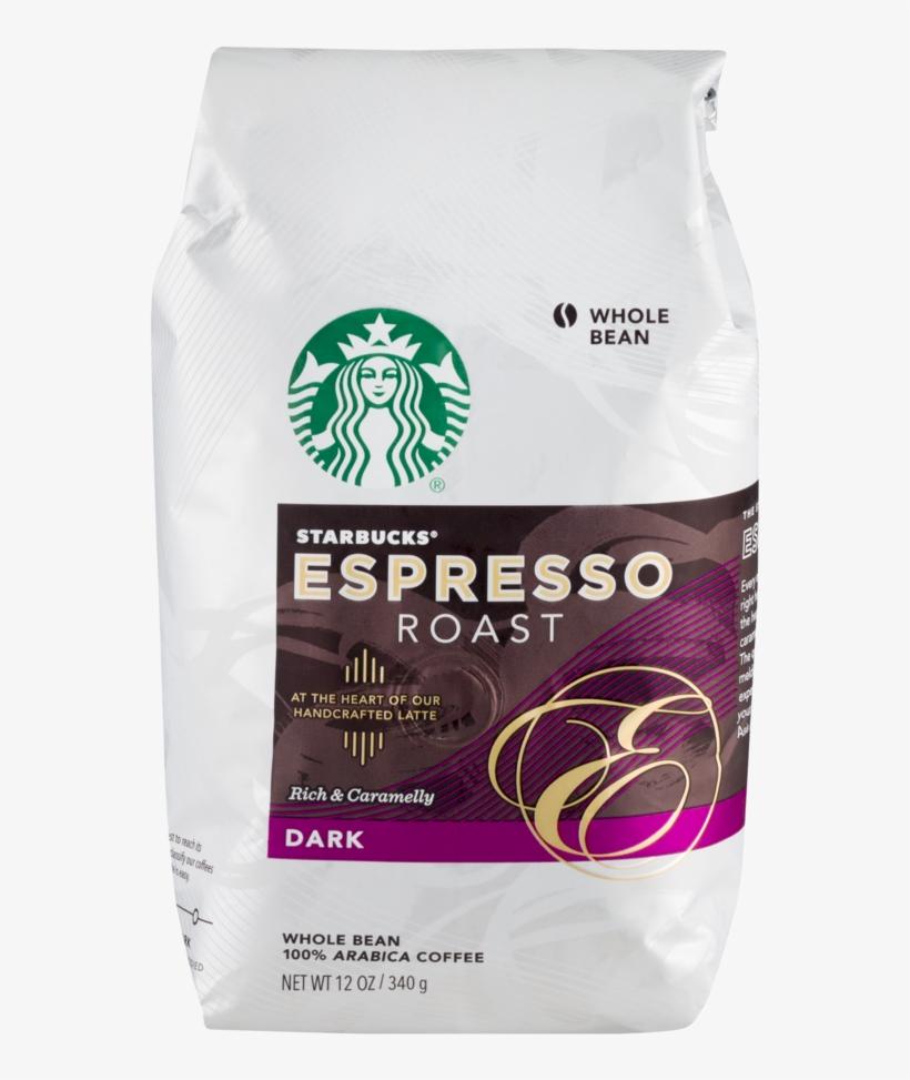Starbucks Whole Bean Dark Espresso Roast Coffee, 12 - Starbucks Espresso Whole Bean, transparent png #9406653