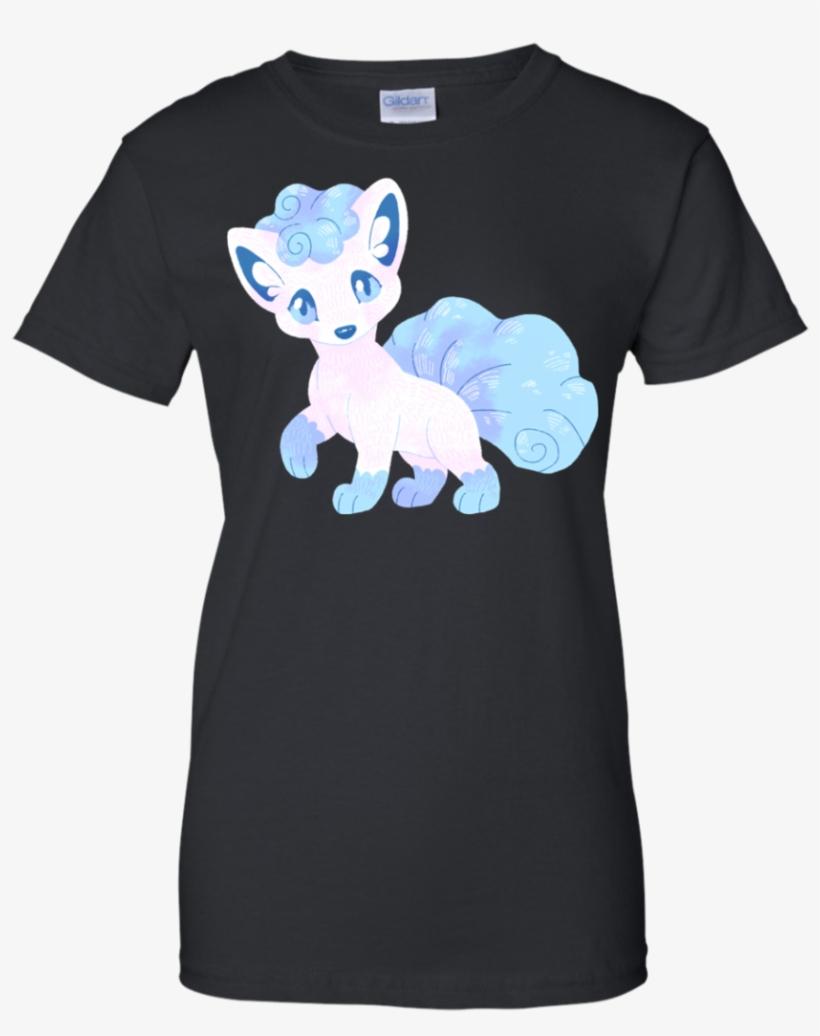 Alola Vulpix Ice T Shirt & Hoodie - Shirt, transparent png #9419491