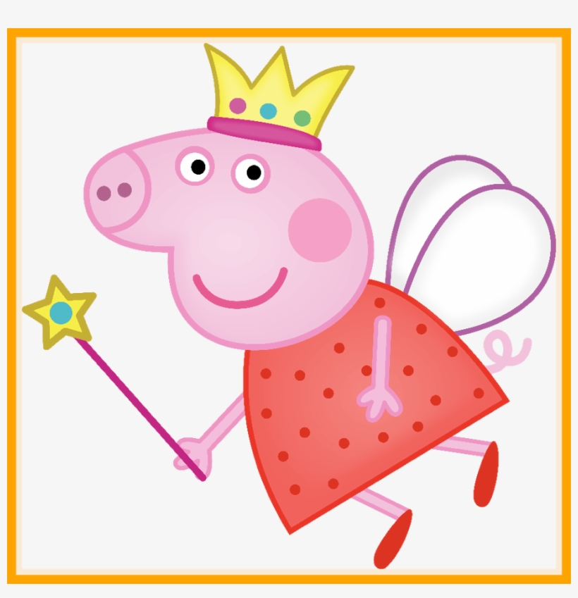 Incredible Album Archive Ideas Craft Cake Image Of - Peppa Pig Fairy Wings, transparent png #9428005