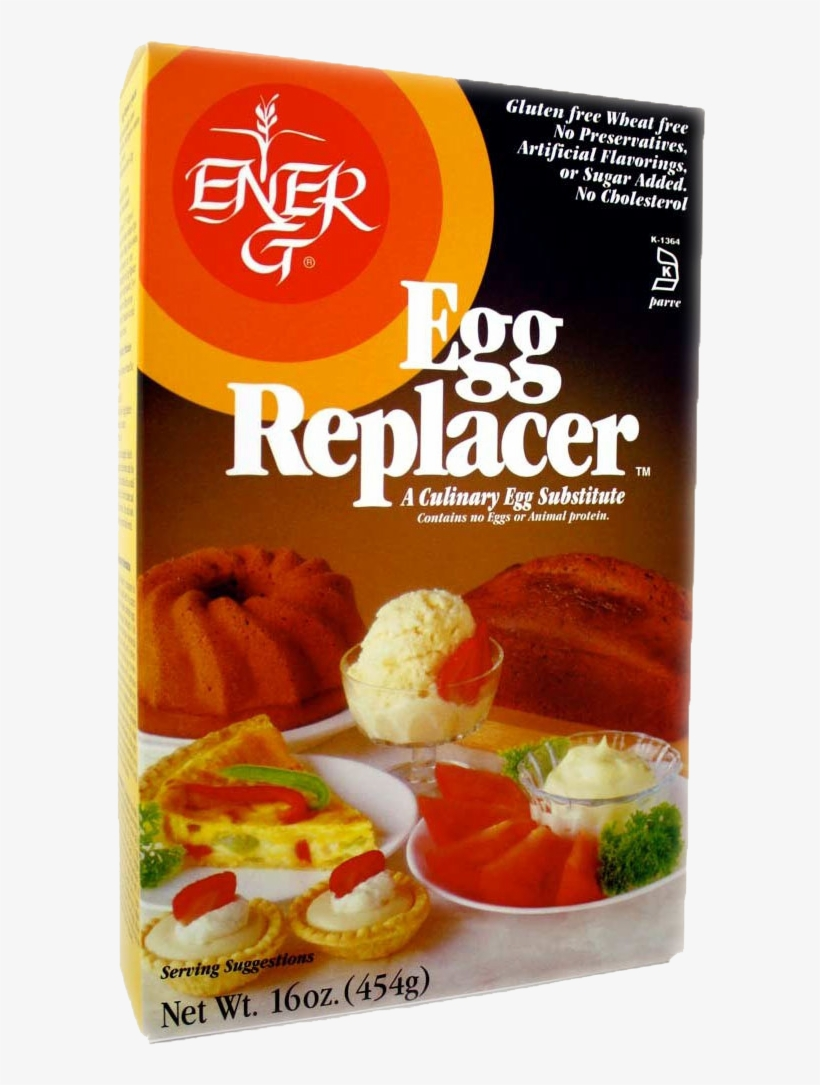 Ener G Egg Replacer, 16 Oz - Ener G Egg Replacer 16 Oz, transparent png #9430147
