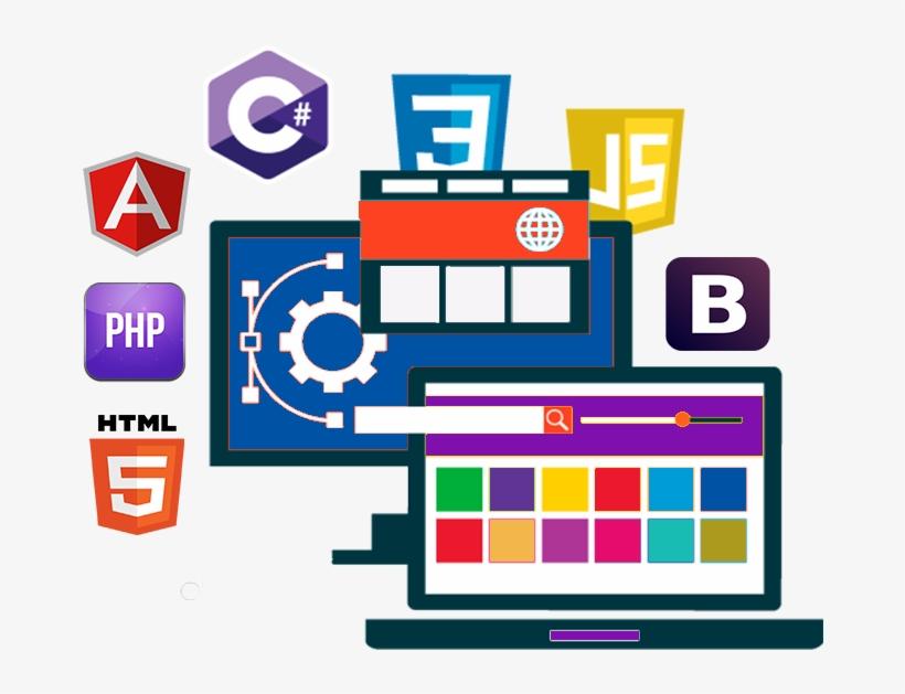 Web Design & Development - Website Design & Development Clip Art, transparent png #9431426