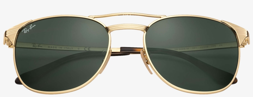 Sunglasses Gold Ray-ban Accessories Goggles Clothing - Ray Ban Shades Men, transparent png #9432594