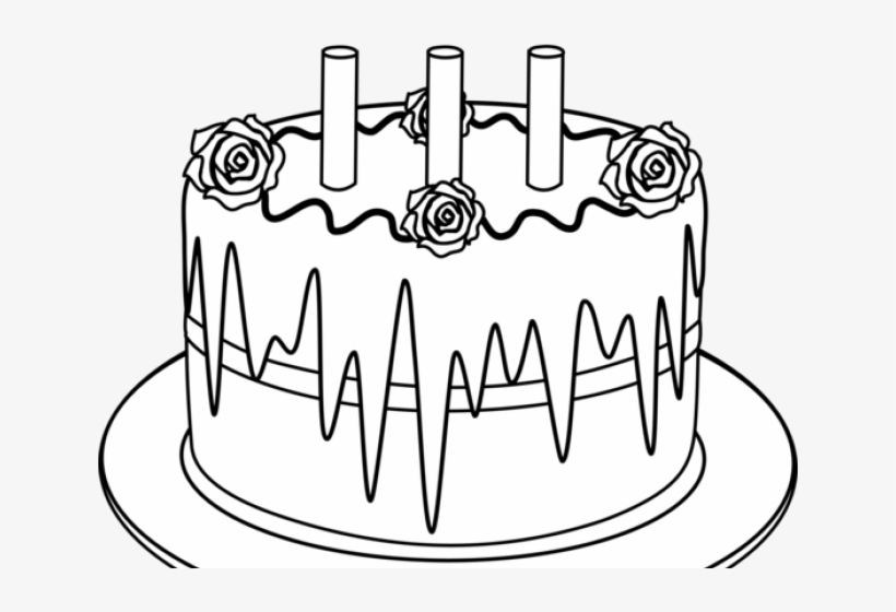 Super Birthday Cake Outline Birthday Cake Drawing Png Free Funny Birthday Cards Online Alyptdamsfinfo