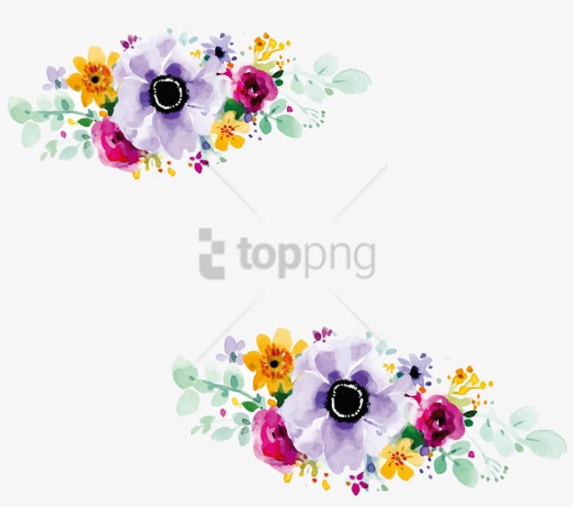 Free Png Flower Design For Wedding Invitation Png Image - Flower Design For Wedding Invitation Png, transparent png #9437851