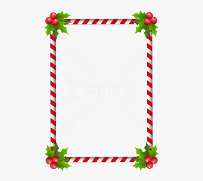 Free Png Christmas Transparent Classic Frame Border - Clip Art Christmas Borders, transparent png #9438143