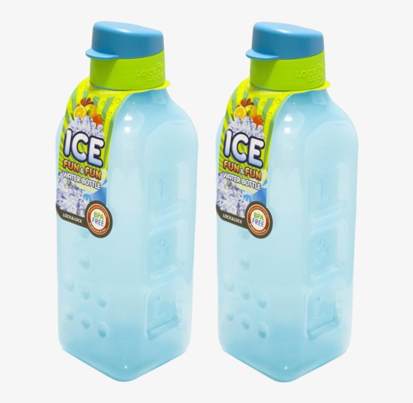 Ice Fun And Fun Fridge Bottle - Lock & Lock Ice Water Bottle, transparent png #9440512