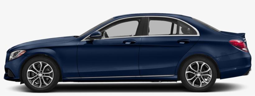 2018 Mb C-class Blue - 2017 Mercedes Benz C300 4 Door, transparent png #9446798