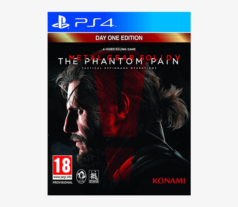 Metal Gear Solid V The Phantom Pain - Metal Gear Solid V The Phantom Pain Day One Edition, transparent png #9458383