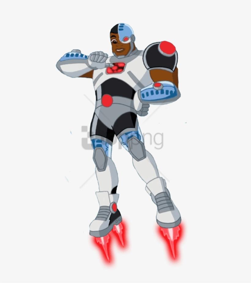 Free Png Download Dc Super Hero Girls Cyborg Clipart - Cyborg Dc Super Hero Girls, transparent png #9461050