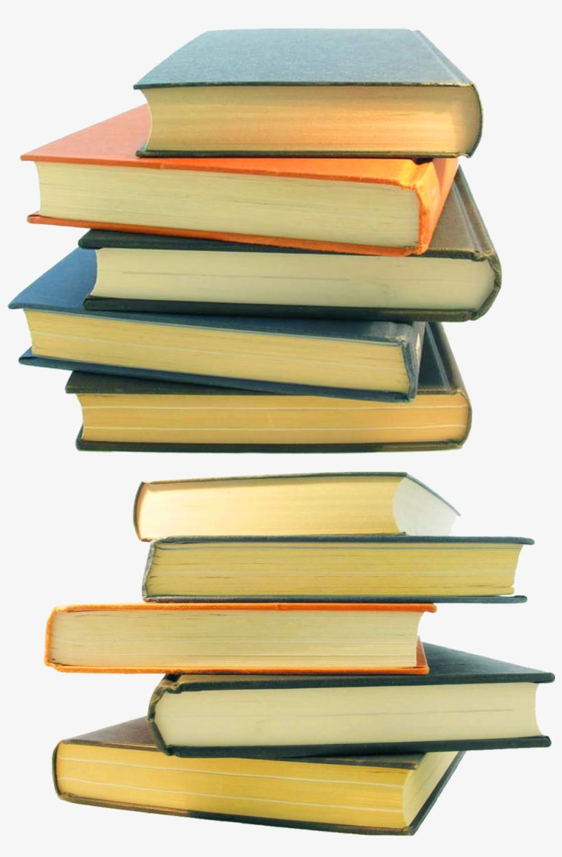 Pile Of Books Png - Stack Of Books Png, transparent png #9461895