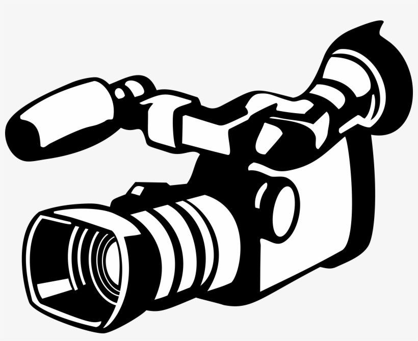 Cameras For Live Streaming Church - Camcorder Clipart - Free