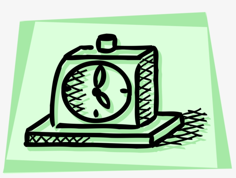Vector Illustration Of Strategic Game Of Chess Timer, transparent png #9469312