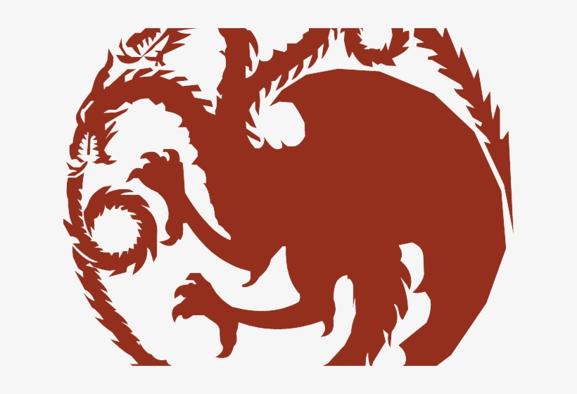 Game Of Thrones Clipart Iron Throne House Targaryen Logo Free Transparent Png Download Pngkey