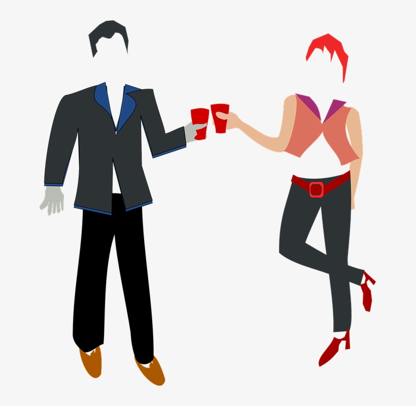 Mujer Clipart Mann - Clipart Couple Holding Hands Transparent, transparent png #9472501