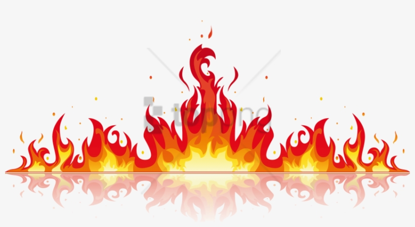 Free Png Fire Flame Vector Png Image With Transparent - Fire Flame Vector Png, transparent png #9473840