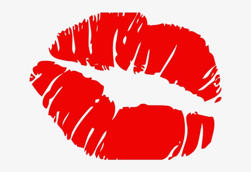 Emoji Clipart Lipstick - Kiss Mark Transparent Background, transparent png #9474144