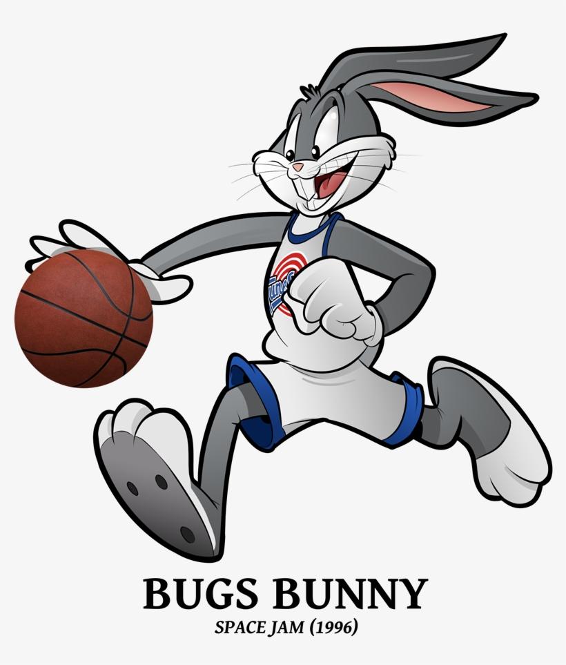 Draft 2018 Special - Bugs Bunny Space Jam Png, transparent png #9481428