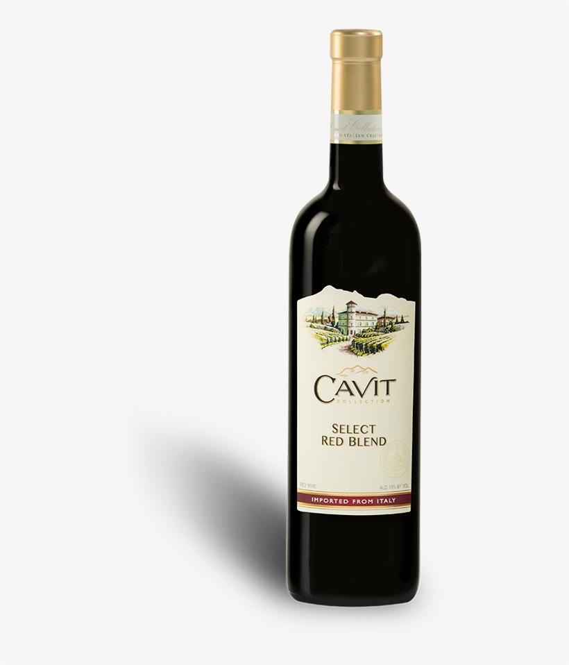 Cavit Red Blend Wine - Cavit Wine Red Blend, transparent png #9482380