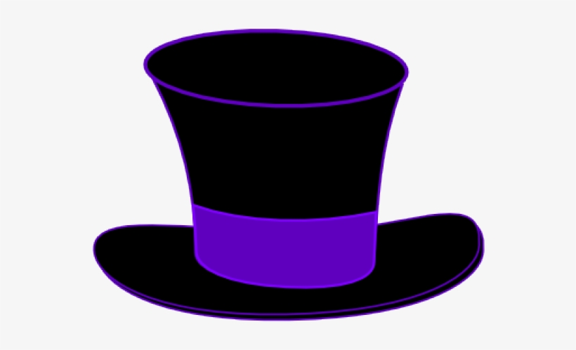 Top Hat Clipart Mad Hatter Free Transparent Png Download Pngkey