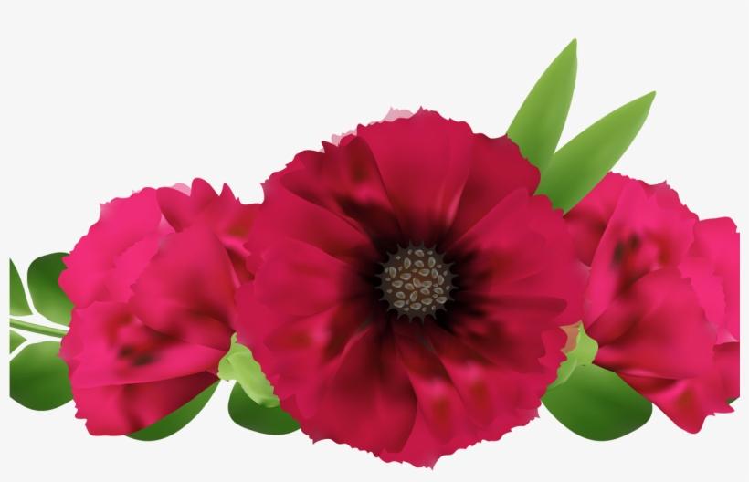 Beautiful Red Flowers Png Clip Art Image Gallery Yopriceville - Flores De Frida Kahlo Dibujo, transparent png #9485633