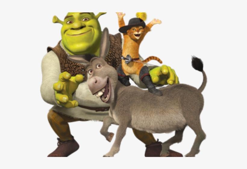 Shrek Clipart Face - Shrek And Donkey Png, transparent png #9486787