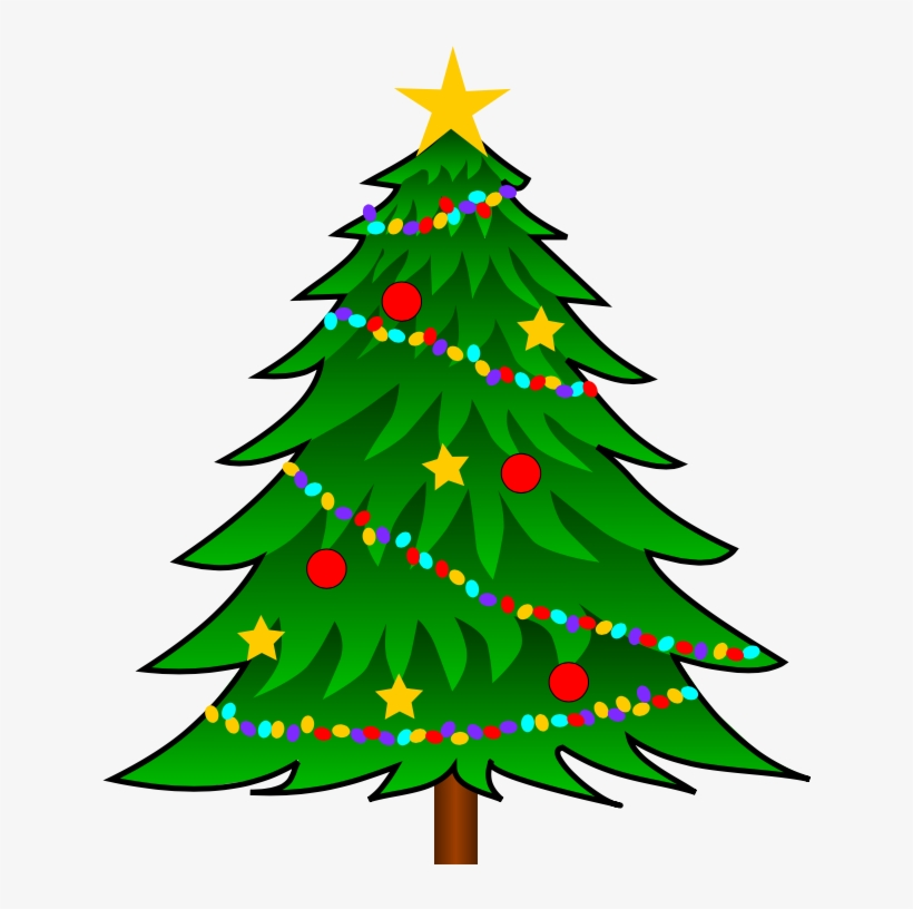 28 Collection Of Vector Clip Art Christmas Tree - Christmas Pine Tree Clip Art, transparent png #9491706