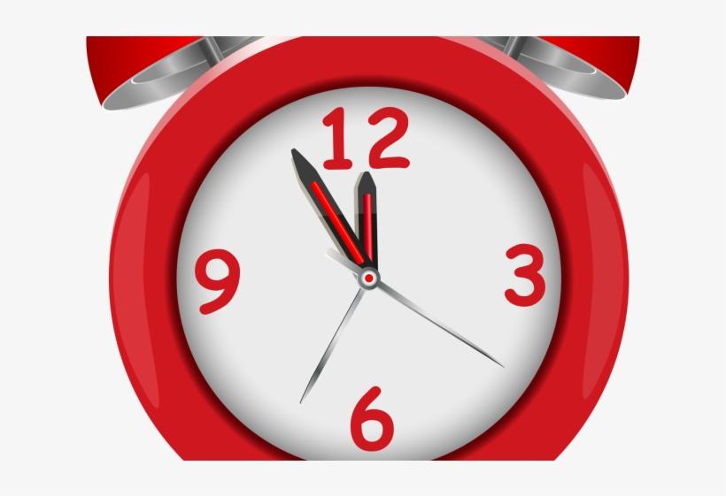 Clock Clipart Emoji - Clock Red Png, transparent png #9493931