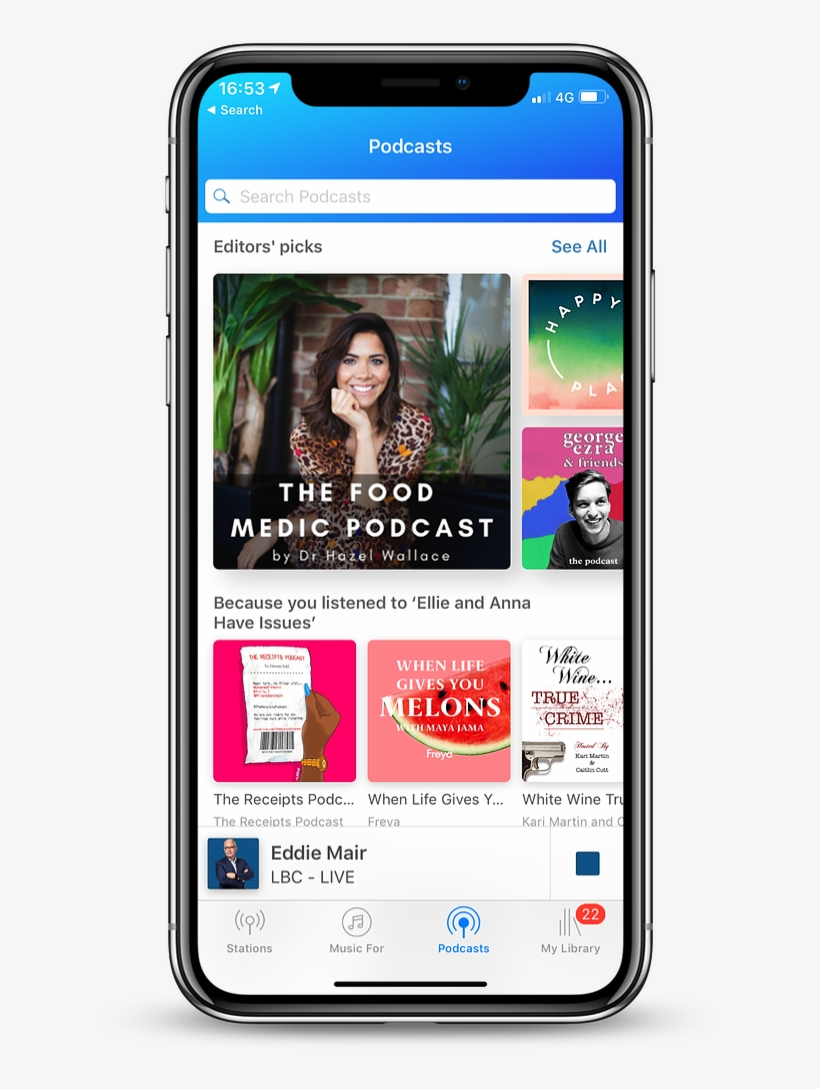"""James Hickman, Global's Director Of Digital, Said """"we're - Global Player Podcasts, transparent png #9495793"""