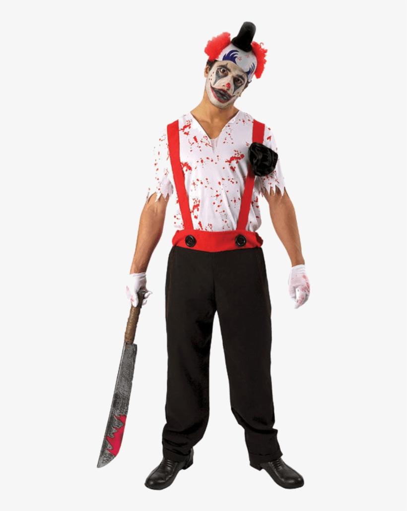 Evil Clown Costume - Psycho It Clown Costume, transparent png #951773