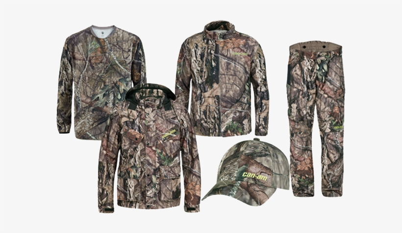 Can-am Hunting Apparel And Accessories In Mossy Oak - Can Am Mossy Oak Camo, transparent png #952241