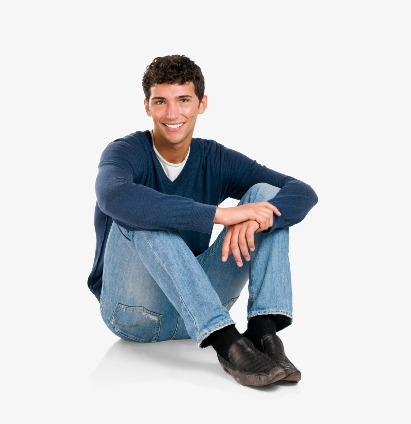 Person Sitting On Floor Png Clip Art