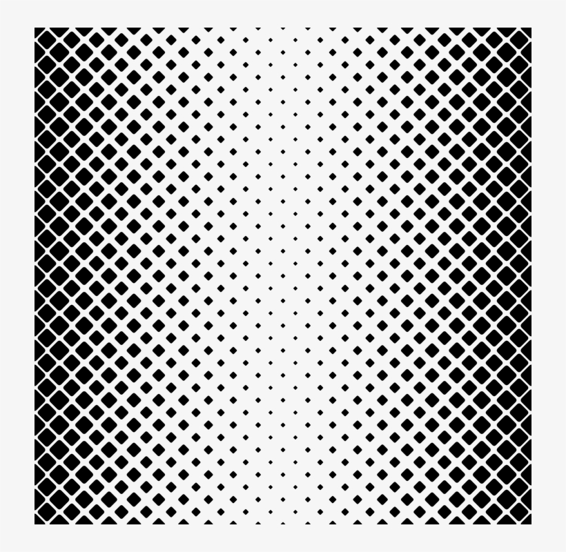 Square Rounded Background Pattern Geometry Shape Dot Pattern