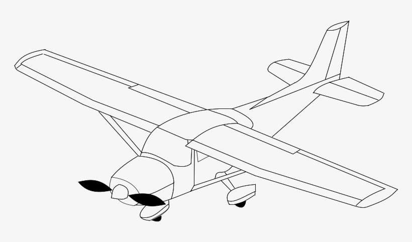 Stock Airplane Heart Clipart - Airplane, transparent png #955321