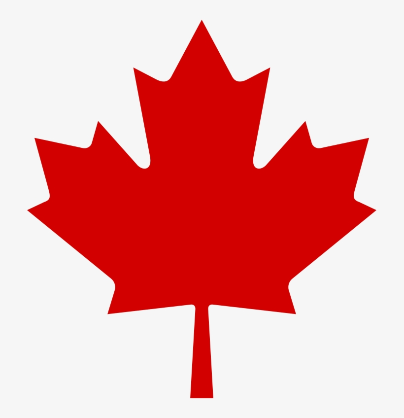 Red Maple Leaf - Canadian Maple Leaf Icon, transparent png #955608