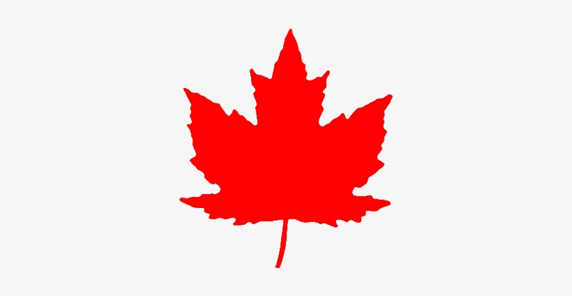 Maple Leaf From Roundel Br Red Canadian Maple Leaf Png