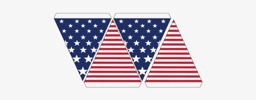 Get It Now American Flag Bunting Template Transpa Png 955975