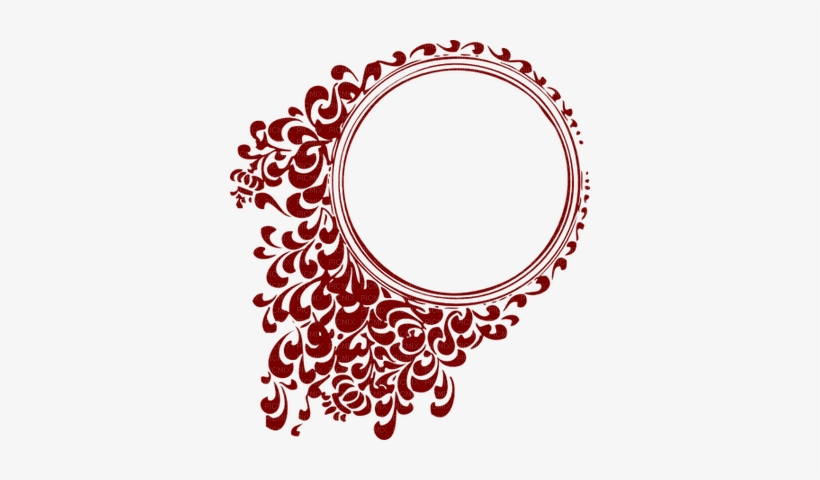 Round Frame - Circle Border Design Png, transparent png #956099