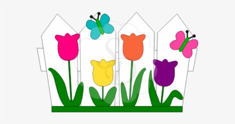 Download Flower Bed, Available For A Limited Time - Flower Garden May Clip Art, transparent png #957504