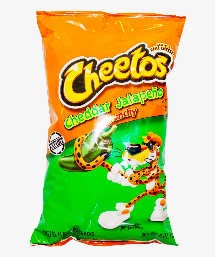 Alfatah Cheetos Chips Cheddar Jalapeno Crunchy Png - Cheetos Crunchy Cheese Flavored Snacks - 1.25 Oz Bag, transparent png #957582