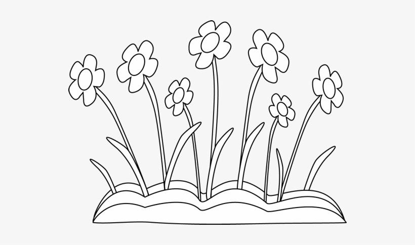 Clip Library Collection Of Flower Bed High Quality