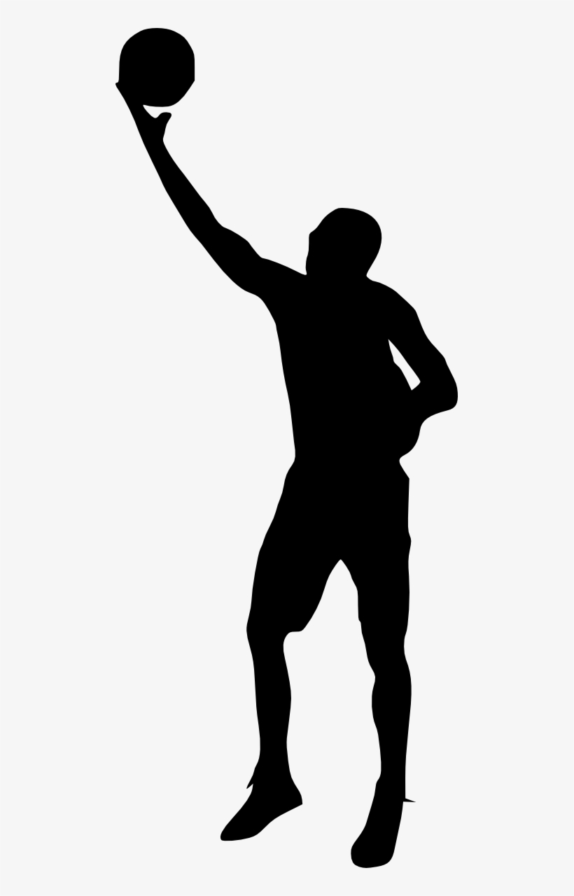 Free Png Basketball Player Silhouette Png Images Transparent - Portable Network Graphics, transparent png #957881