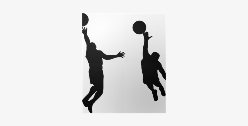 Basketball Player Silhouette Blocking, transparent png #958308