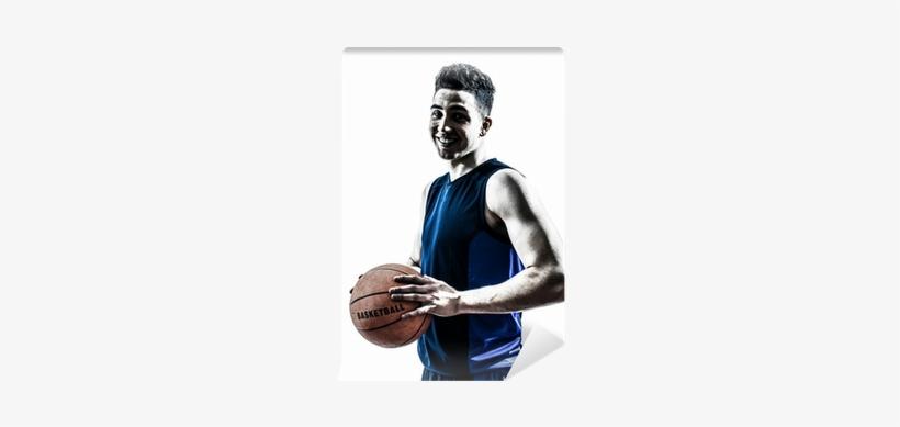 Caucasian Man Basketball Player Silhouette Wall Mural - Human, transparent png #958331