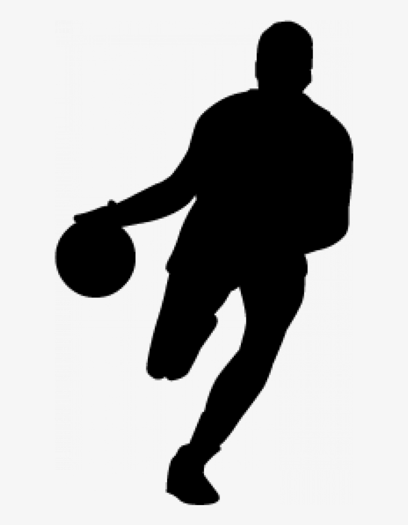 Basketball Player Silhouette Transparent, transparent png #958383