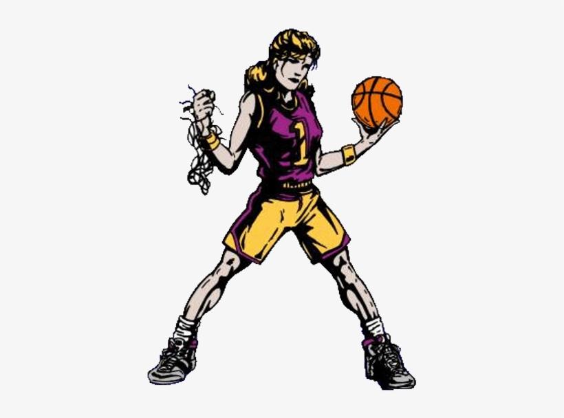 Girls Basketball High School Clipart - Girls Basketball Gif, transparent png #958403