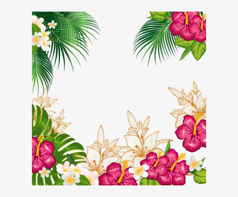 Fondo Tropical Png Fundo De Convite Tropical Free Transparent