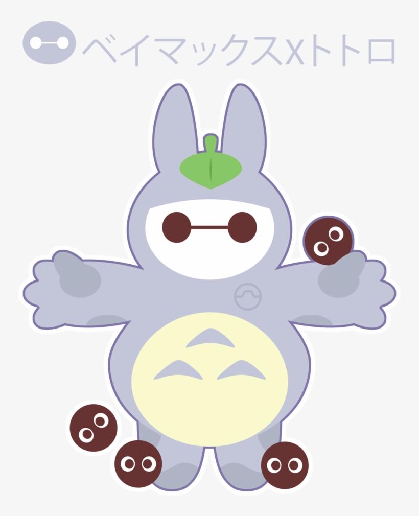 Baymax S Totoro Cosplay By Itachi Roxas-d7znrn9 - Baymax Deviantart, transparent png #958828