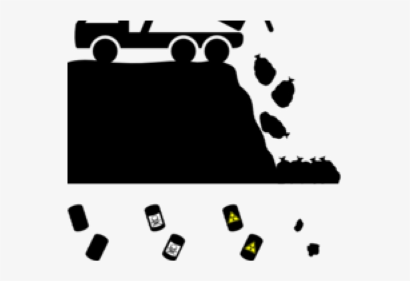 Trash Clipart Pile Trash - Landfill Clipart, transparent png #9504079