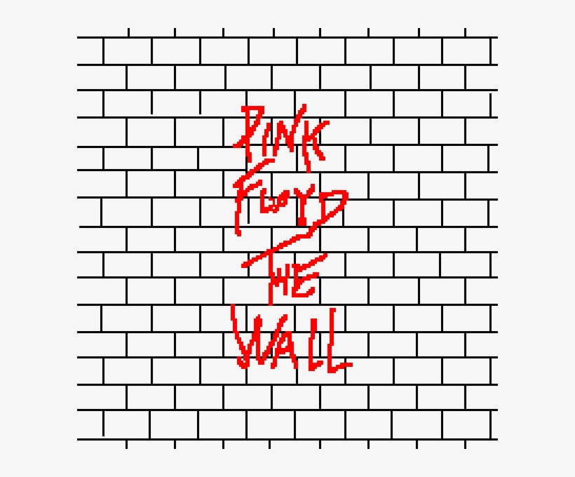 All In All, We're Just Another Brick In The Wall - Cartoon Brick Wall, transparent png #9504976