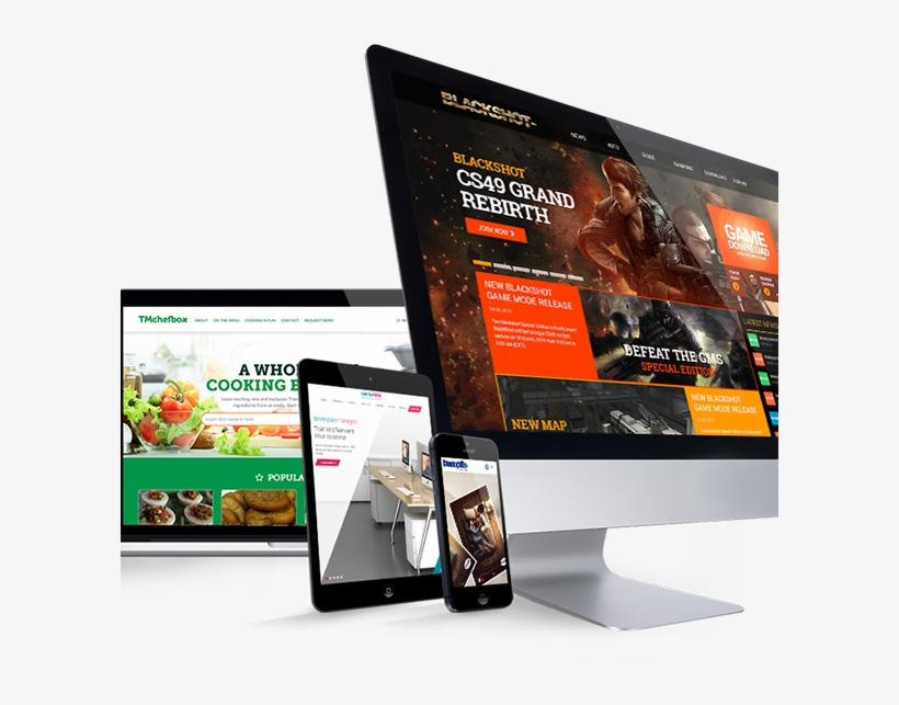 Ecommerce Website - Website Design Png, transparent png #9519597